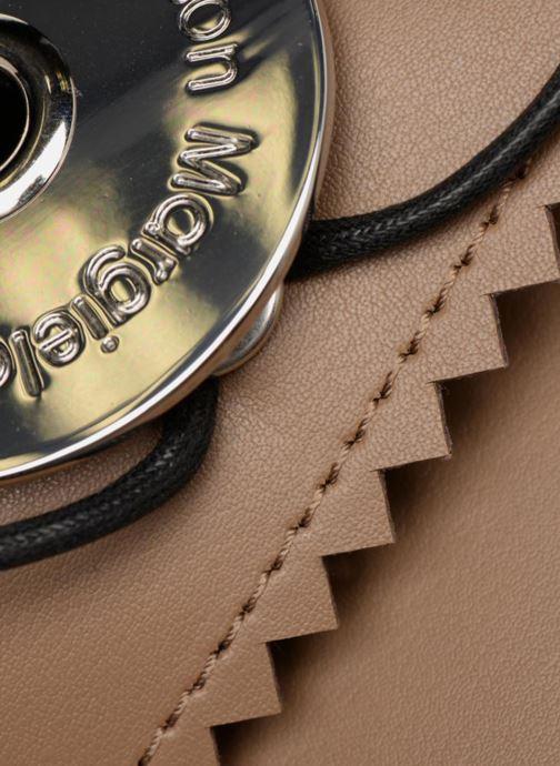 Portemonnaies & Clutches MM6 Martin Margiela S54WF0017 braun ansicht von links