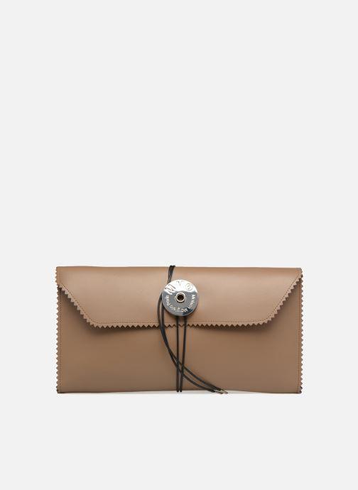 Portemonnaies & Clutches MM6 Martin Margiela S54WF0017 braun detaillierte ansicht/modell