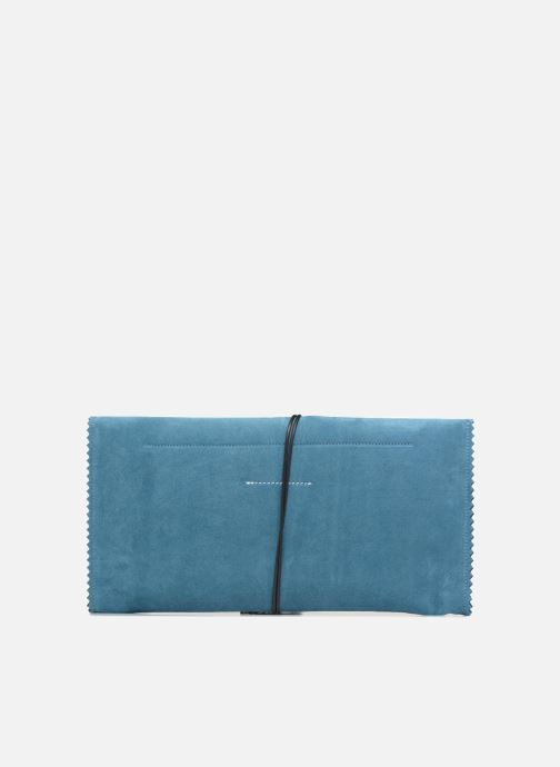 Sacs pochettes MM6 Martin Margiela S54WF0017 Bleu vue face