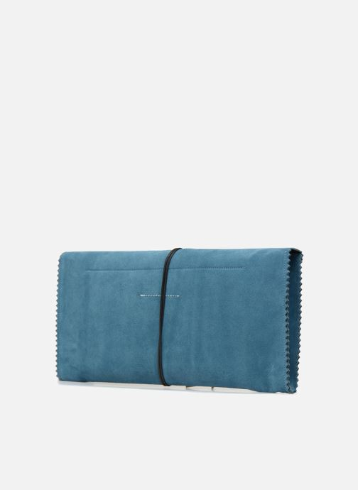 Wallets & cases MM6 Martin Margiela S54WF0017 Blue view from the right