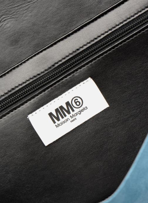 Bolsos Clutch MM6 Martin Margiela S54WF0017 Azul vistra trasera