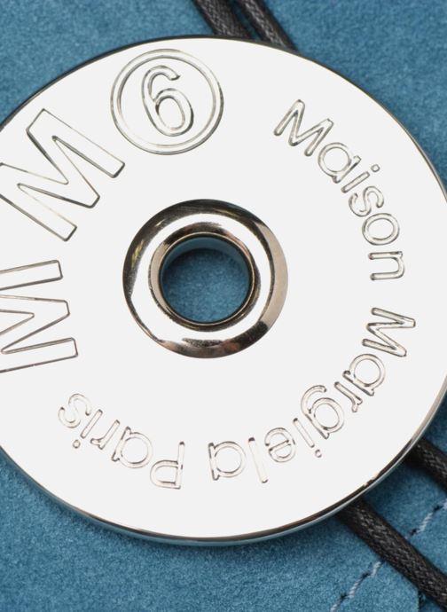 Bolsos Clutch MM6 Martin Margiela S54WF0017 Azul vista lateral izquierda