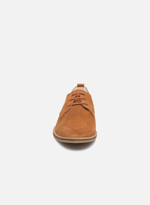 Lace-up shoes Jack & Jones Richelieu Cognac Brown model view