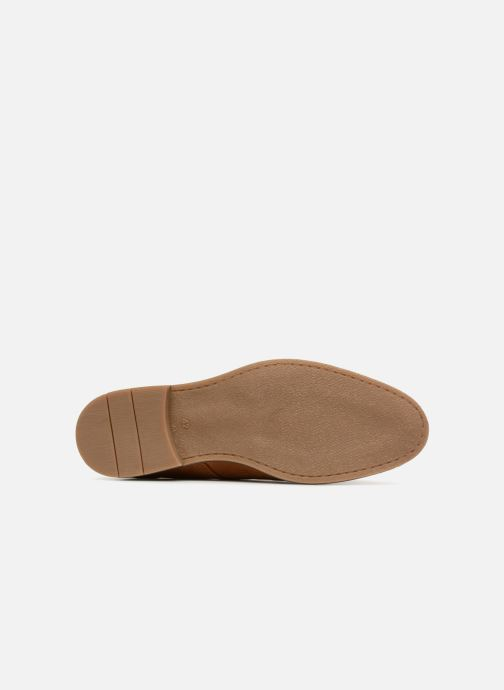 Lace-up shoes Jack & Jones Richelieu Cognac Brown view from above