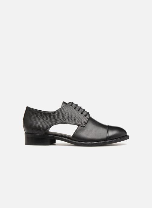 Zapatos con cordones COSMOPARIS Elair Negro vistra trasera
