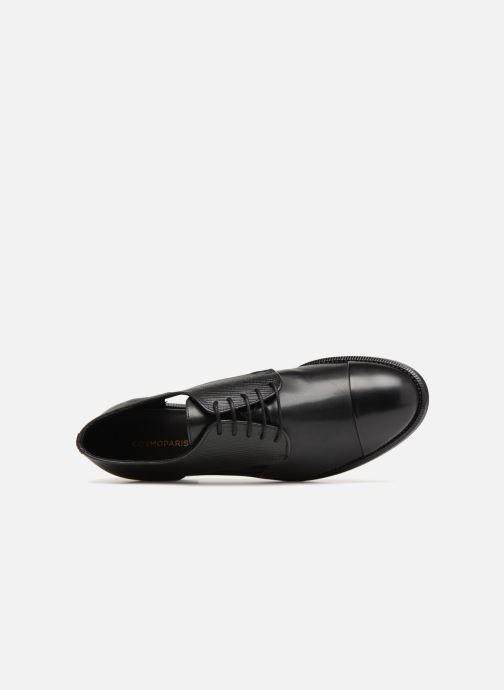 Zapatos con cordones COSMOPARIS Elair Negro vista lateral izquierda