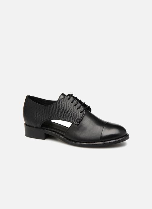 Zapatos con cordones COSMOPARIS Elair Negro vista de detalle / par