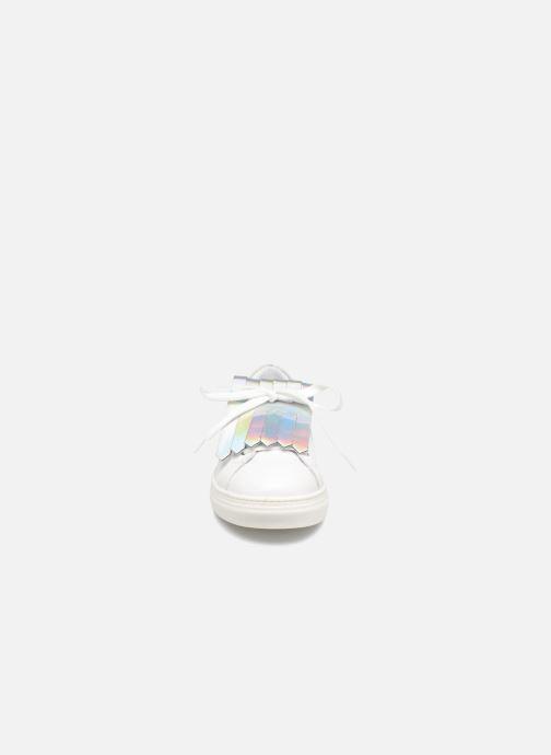 Baskets COSMOPARIS Inoa Blanc vue portées chaussures