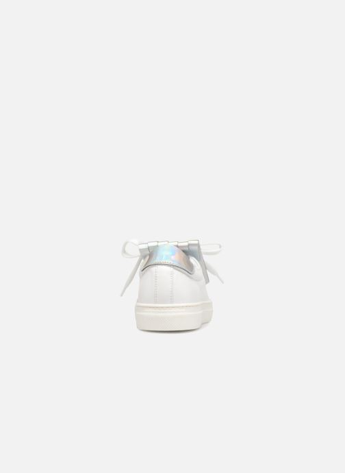 Baskets COSMOPARIS Inoa Blanc vue droite