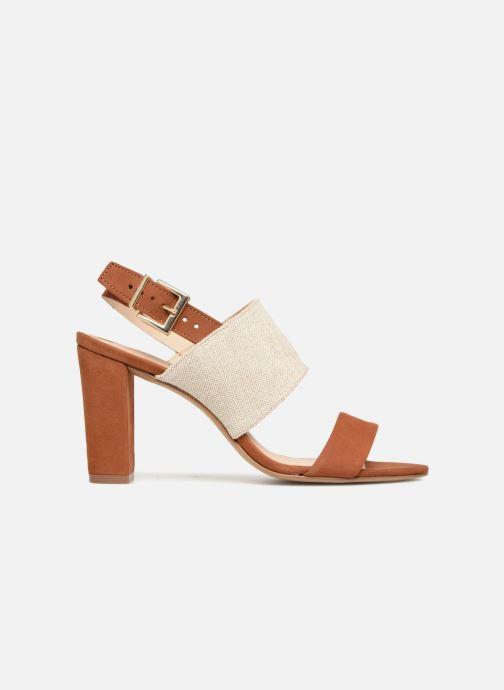 Sandales et nu-pieds COSMOPARIS Jidea Marron vue derrière