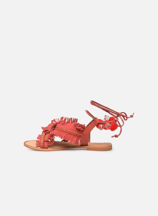 Sandalias Vero Moda 10196039 Rojo vista de frente