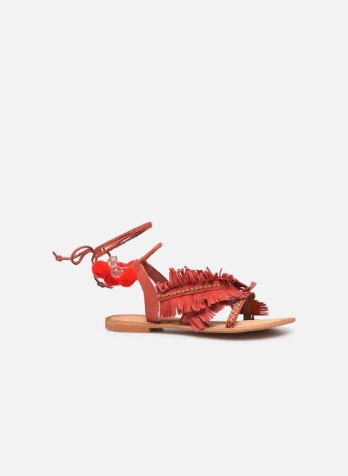 Sandales et nu-pieds Vero Moda 10196039 Rouge vue derrière