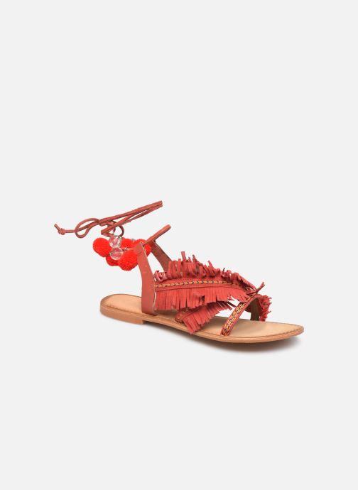 Sandales et nu-pieds Vero Moda 10196039 Rouge vue détail/paire