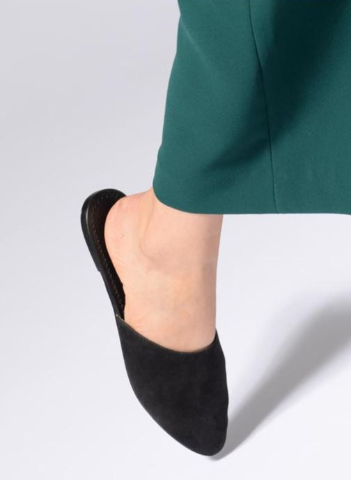 Mules & clogs Vero Moda 10196792 Black view from underneath / model view