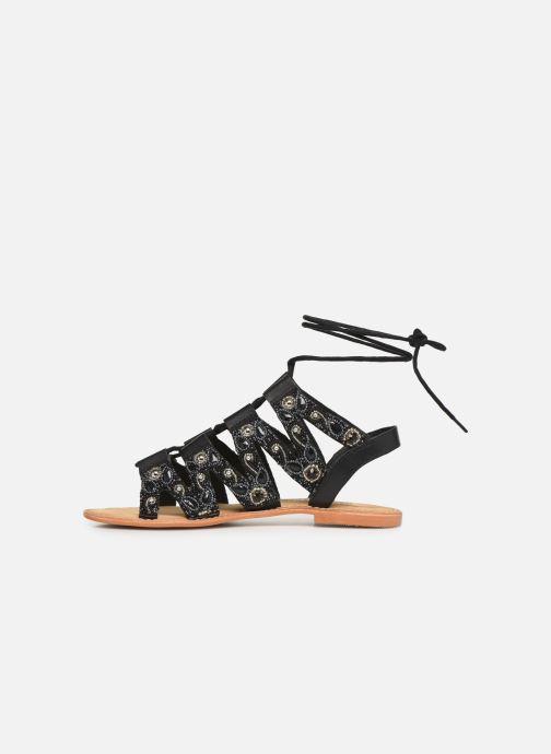 Sandales et nu-pieds Vero Moda Vmtyra Noir vue face