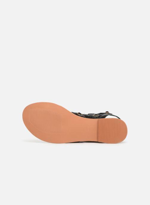 Sandales et nu-pieds Vero Moda Vmtyra Noir vue haut