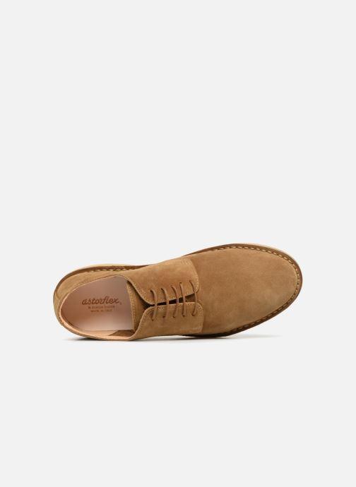 Chaussures à lacets Astorflex COASTFLEX Marron vue gauche