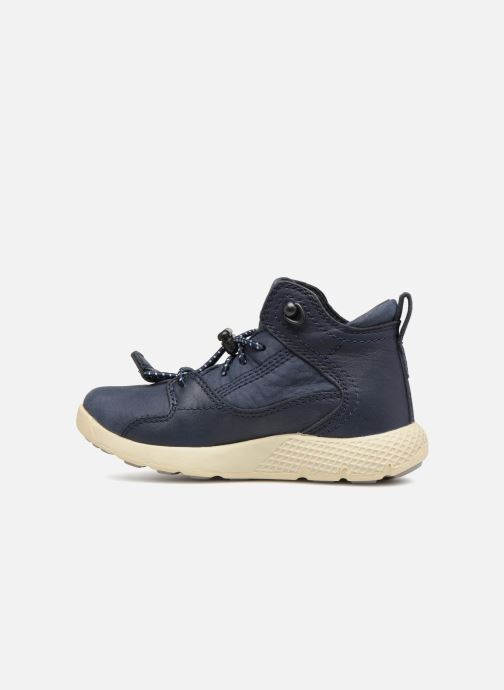Trainers Timberland FlyRoam Leather Blue front view