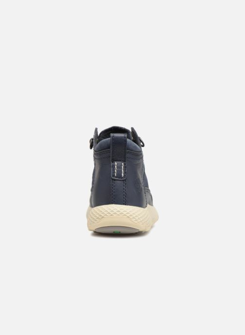 Trainers Timberland FlyRoam Leather Blue view from the right