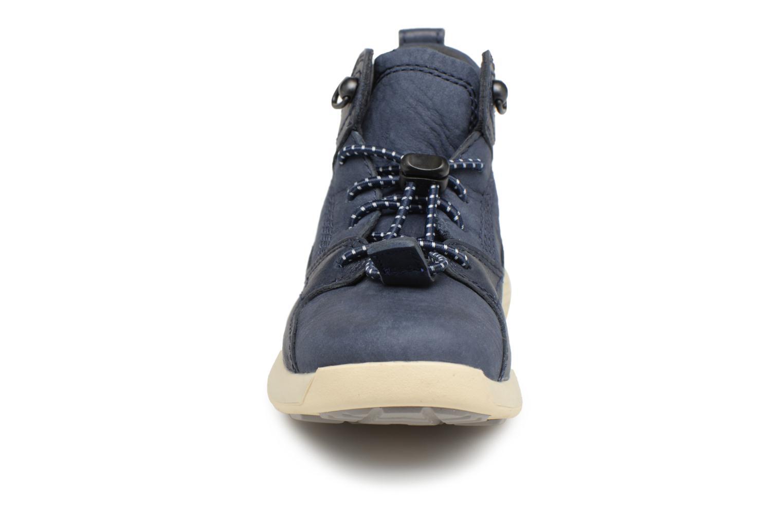 Sneaker Timberland FlyRoam Leather blau schuhe getragen