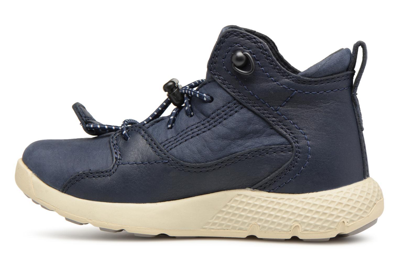 Sneaker Timberland FlyRoam Leather blau ansicht von vorne