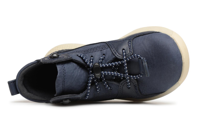 Sneaker Timberland FlyRoam Leather blau ansicht von links