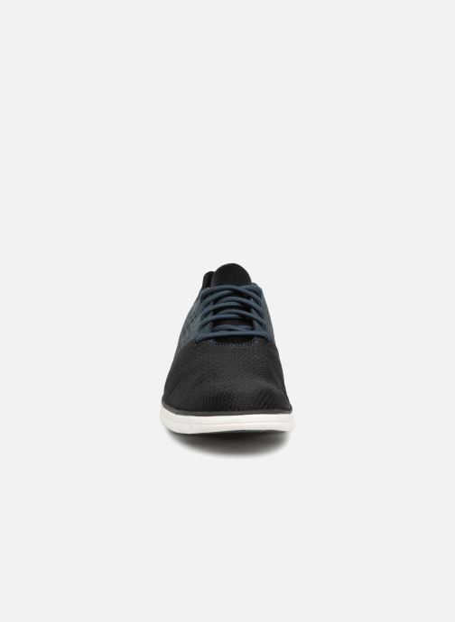 Sneakers Timberland Bradstreet Oxford Azzurro modello indossato