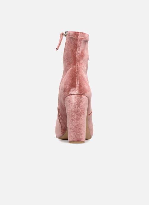 Stiefeletten & Boots Steve Madden Edit Ankle Boot rosa ansicht von rechts
