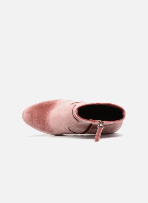 Stiefeletten & Boots Steve Madden Edit Ankle Boot rosa ansicht von links