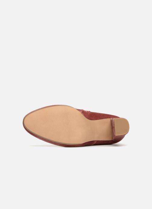 Stiefeletten & Boots Steve Madden Edit Ankle Boot rosa ansicht von oben