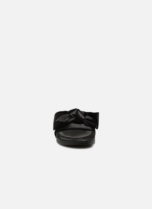 Wedges Steve Madden Silky Sandal Zwart model