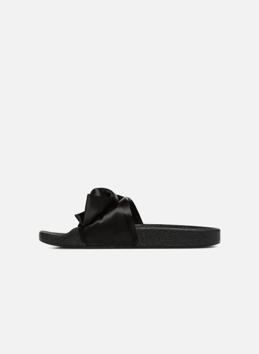 Wedges Steve Madden Silky Sandal Zwart voorkant