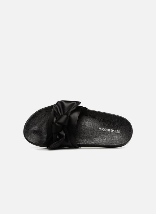 Wedges Steve Madden Silky Sandal Zwart links