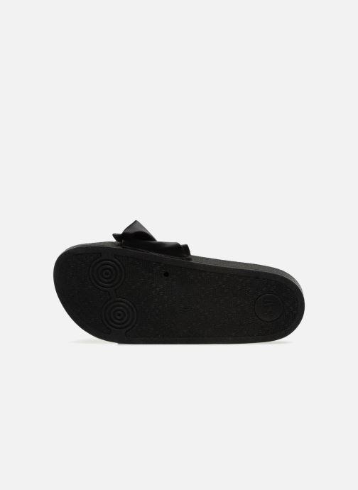 Wedges Steve Madden Silky Sandal Zwart boven