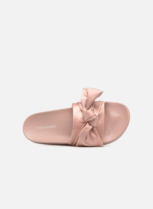 Mules & clogs Steve Madden Silky Sandal Pink view from the left