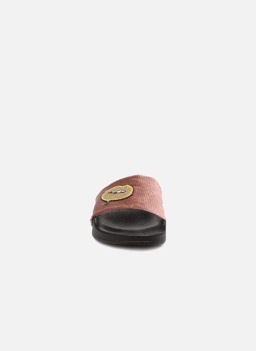 Steve Madden Patches Slipper (Rosa) (Rosa) Slipper - Clogs & Pantoletten bei Más cómodo 9882d3