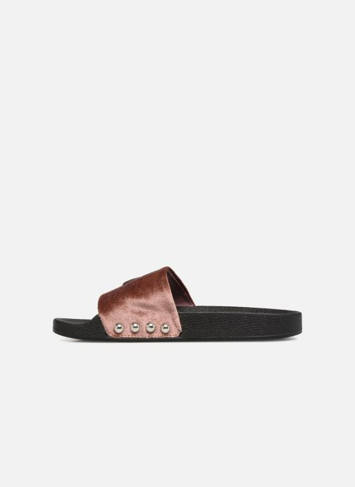 Mules & clogs Steve Madden Patches Slipper Pink front view