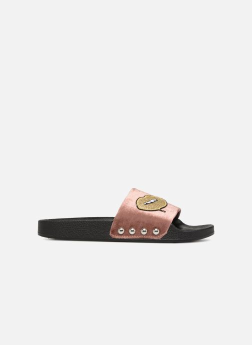 Mules & clogs Steve Madden Patches Slipper Pink back view