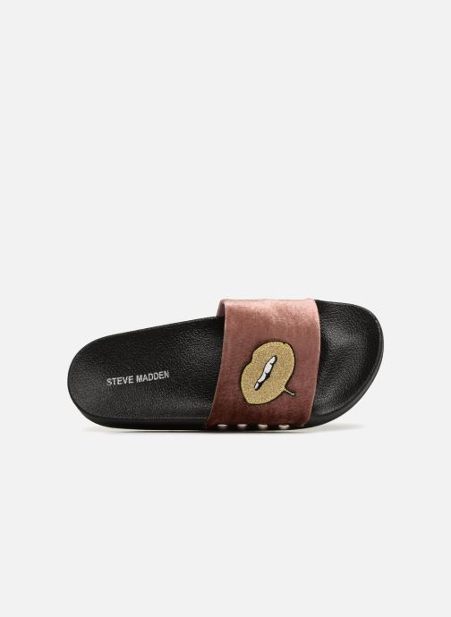 Mules & clogs Steve Madden Patches Slipper Pink view from the left
