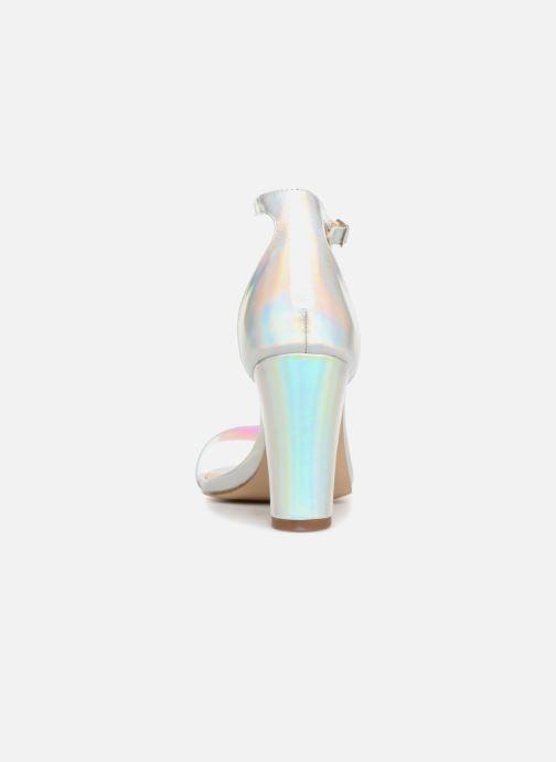 Sandales et nu-pieds Steve Madden Beella Sandal Argent vue droite