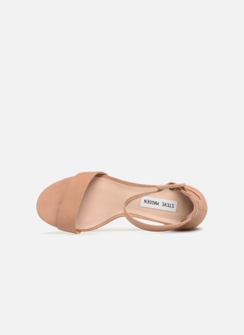 Sandales et nu-pieds Steve Madden Indigo mid heel sandal Beige vue gauche