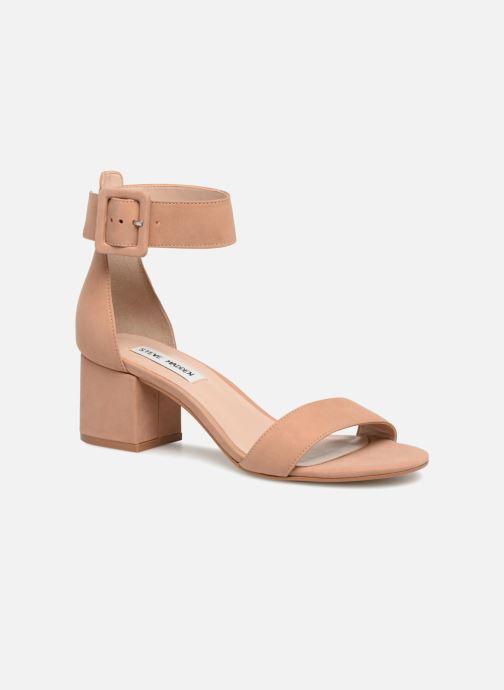 Sandales et nu-pieds Steve Madden Indigo mid heel sandal Beige vue détail/paire