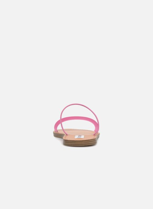Mules & clogs Steve Madden Dasha Flat Sandal Pink view from the right