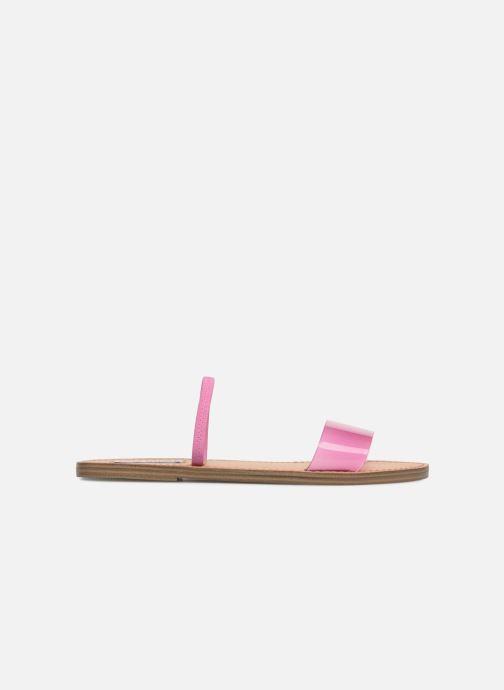 Wedges Steve Madden Dasha Flat Sandal Roze achterkant