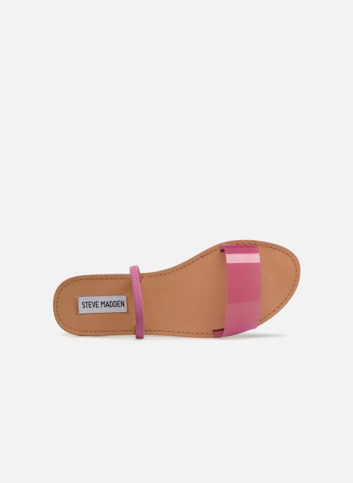 Mules & clogs Steve Madden Dasha Flat Sandal Pink view from the left