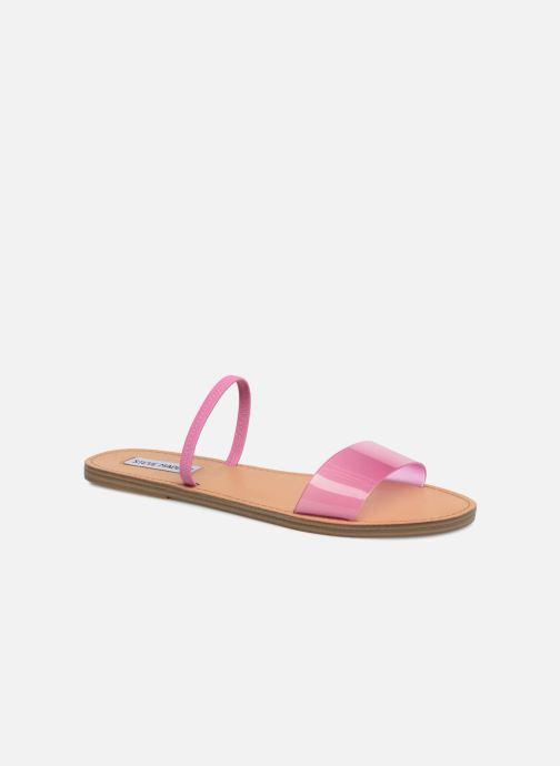 Mules & clogs Steve Madden Dasha Flat Sandal Pink detailed view/ Pair view