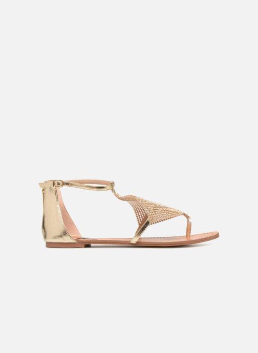 Sandales et nu-pieds Steve Madden Cord Flat Sandal Or et bronze vue derrière