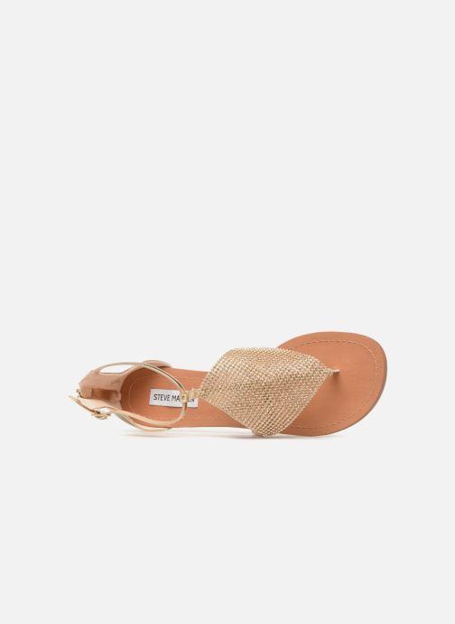 Sandales et nu-pieds Steve Madden Cord Flat Sandal Or et bronze vue gauche