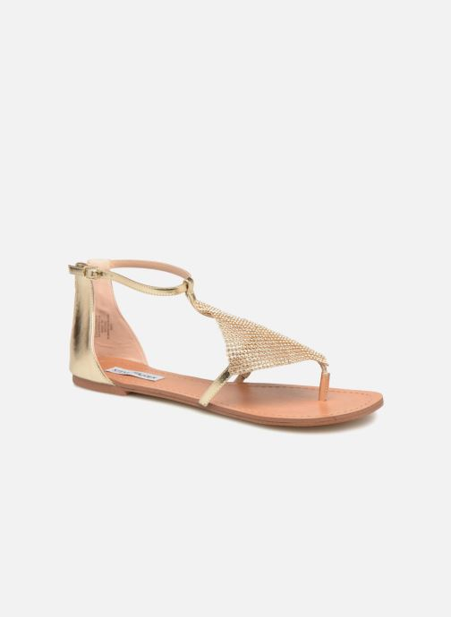 Sandales et nu-pieds Steve Madden Cord Flat Sandal Or et bronze vue détail/paire
