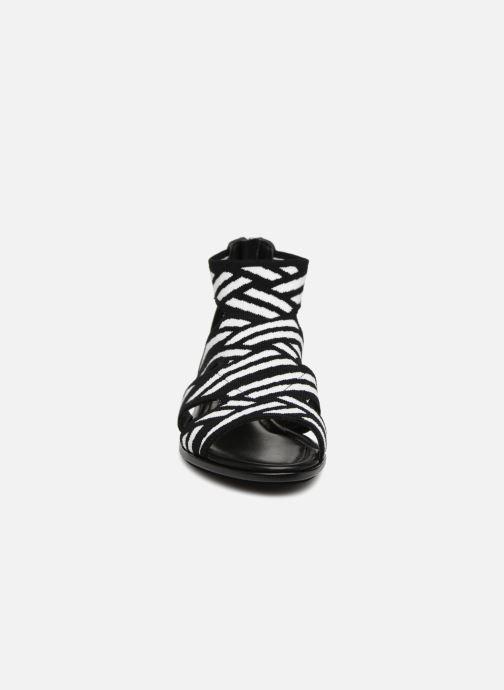 Sandales et nu-pieds What For Effy Lo Noir vue portées chaussures